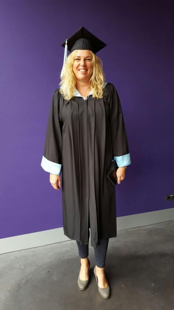 Karin Timmerman; Master of science.