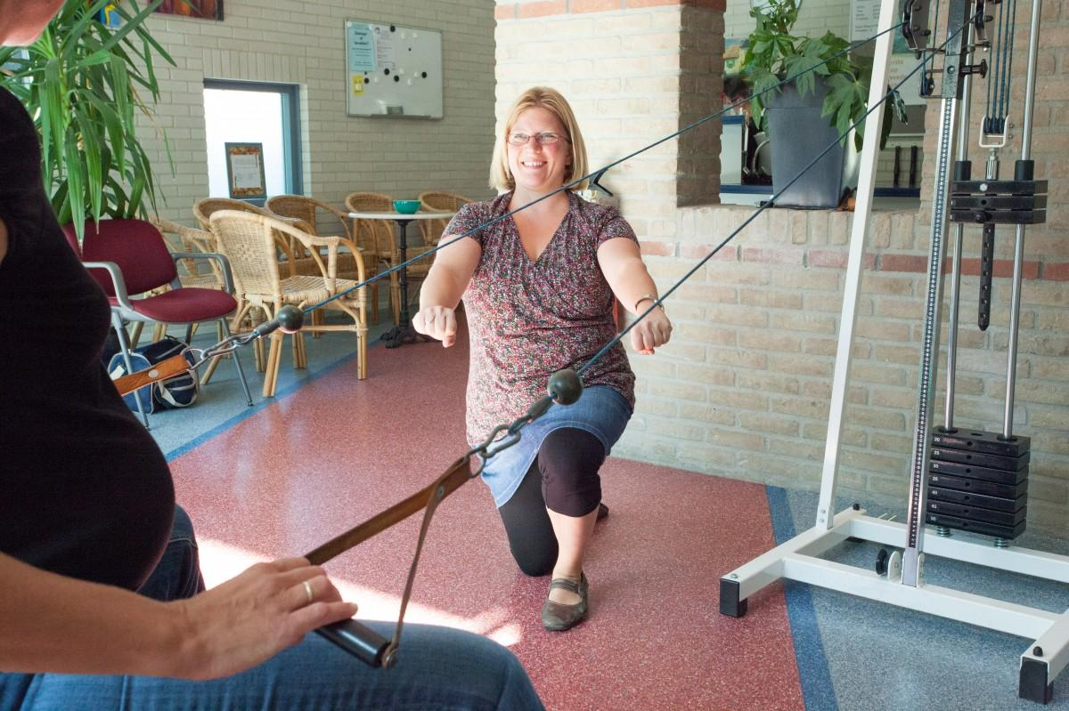 Geriatriefysiotherapie; fysiotherapie voor ouderen.