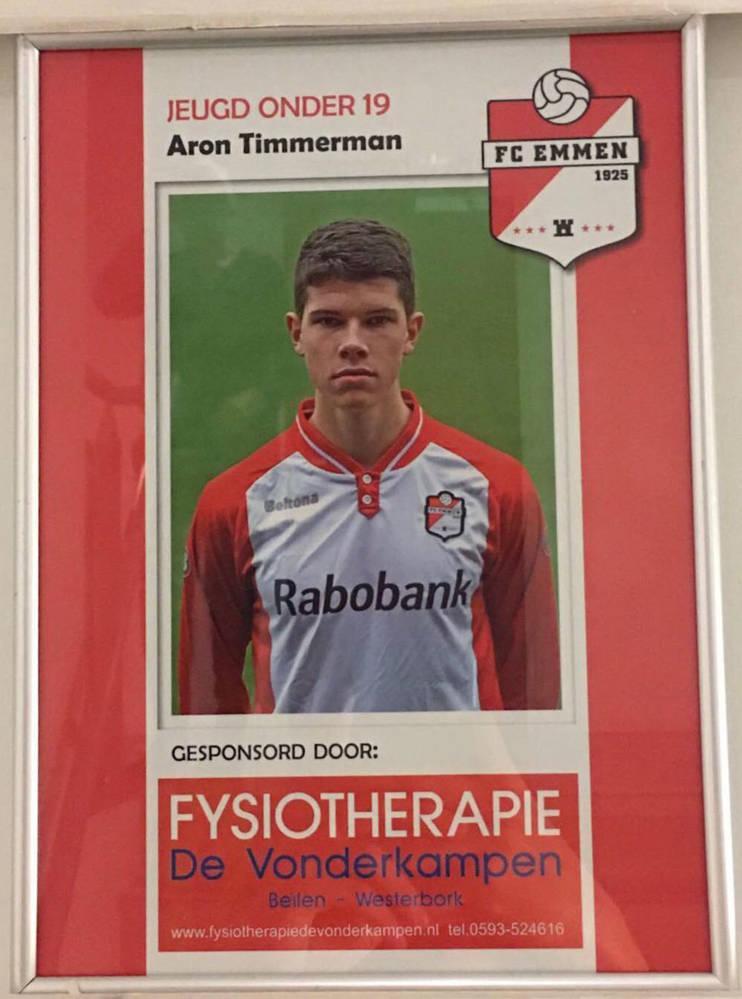Fysiotherapie de Vonderkampen; Talent Sponsor FC Emmen O19